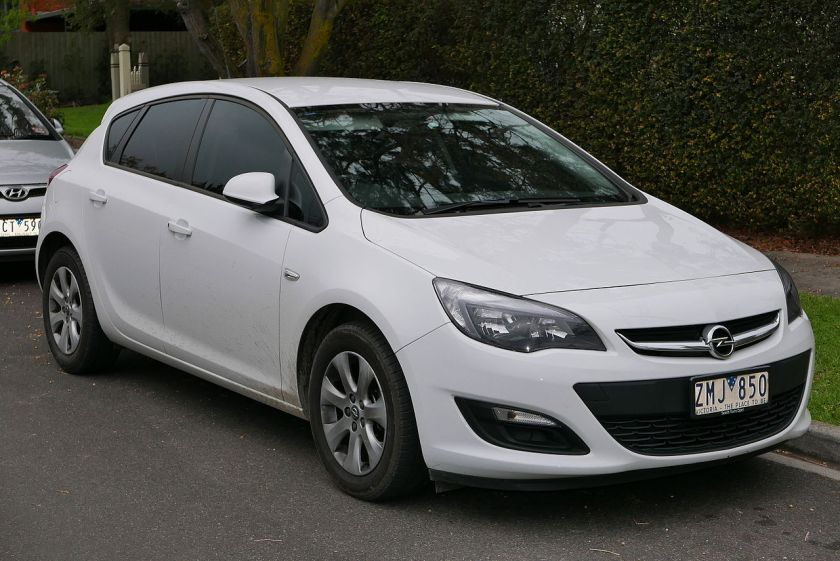 2012 Opel Astra (AS) 1.4 Turbo 5-door hatchback