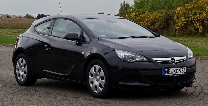 2012 Opel Astra GTC 1.4 Turbo ecoFLEX Edition (J)