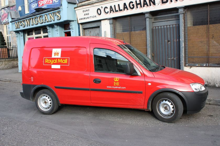 2012 Opel Combo Royal Mail Van