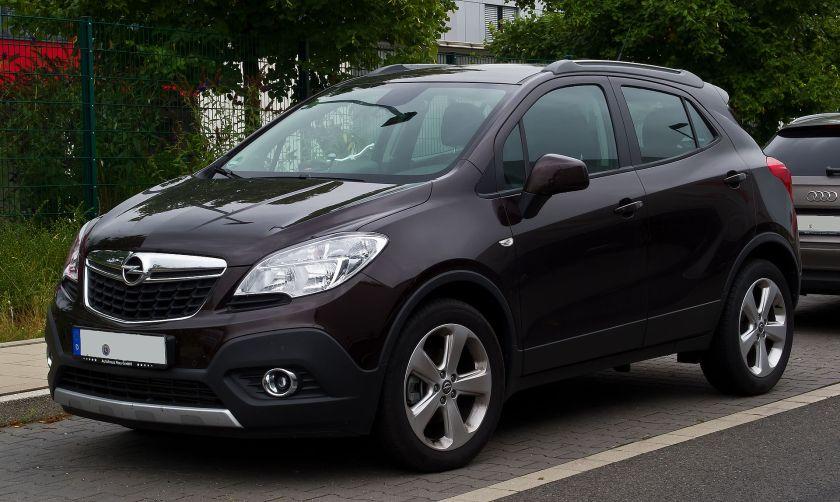 2012–present Opel Mokka ecoFLEX Edition