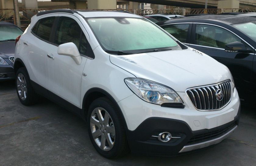 2013 Buick Encore in China