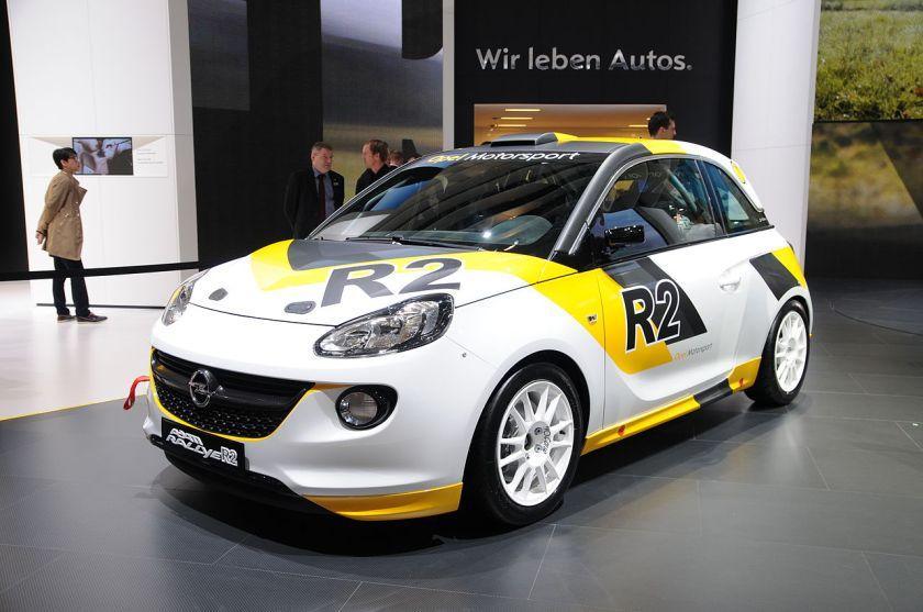 2013 Opel Adam Geneva Motor Show