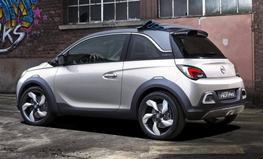 2013 Opel Adam Rocks