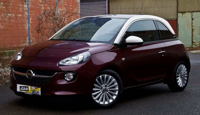 2013-present Opel Adam 1.4 Glam