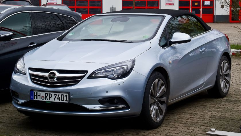 2013–present Opel Cascada 1.6 EDIT Innovation