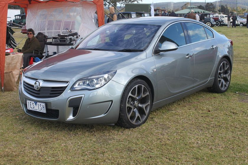 2015 Holden Insignia (GA MY15.5) VXR sedan