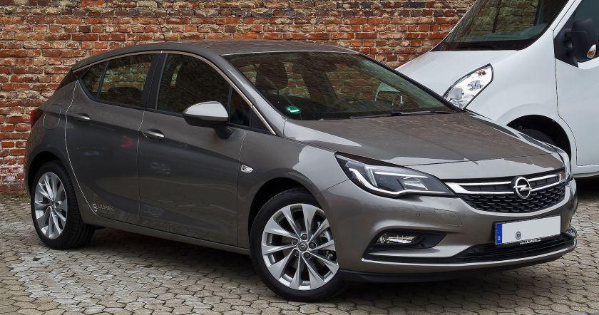 2015 Opel Astra 1.6 CDTI ecoFLEX Edition (K)