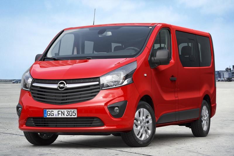2015 Opel Vivaro Combi vervoert acht personen