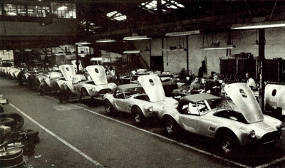 AC Cobra's in Thames Ditton works