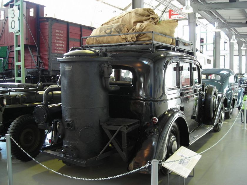 Adler Diplomat 3 with gas generator