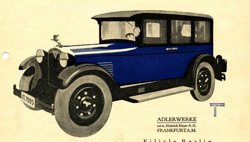Adler Standard 6 ad