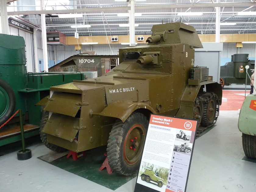 Armoured Car Crossley Mark I
