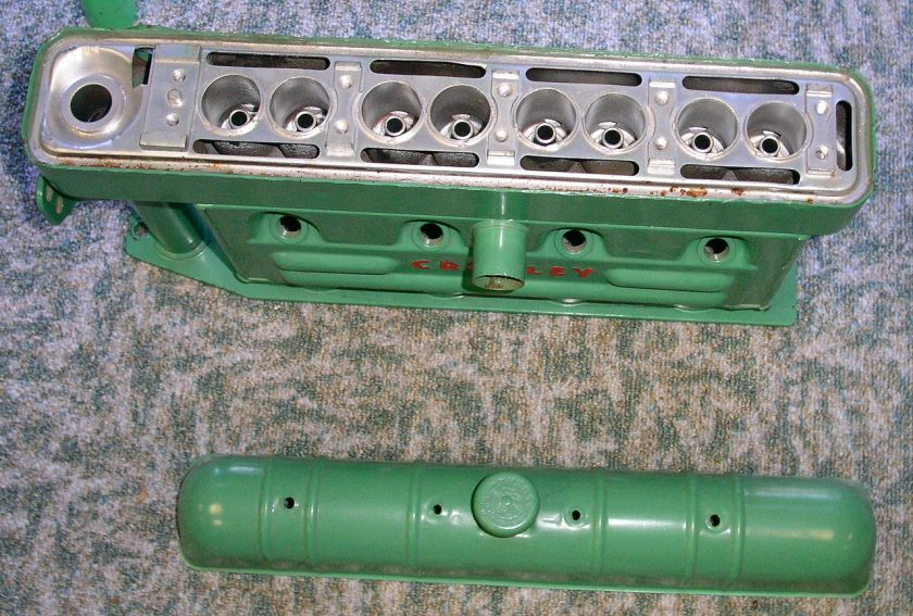 Crosley CoBra Block and Valve Cover