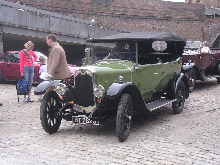 Crossley 14hp-green