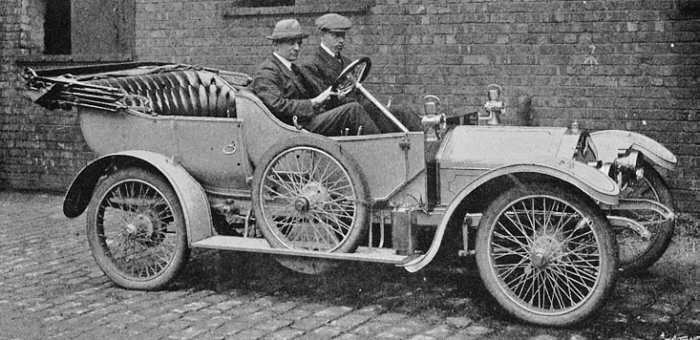 Crossley 15hp 4 seat tourer