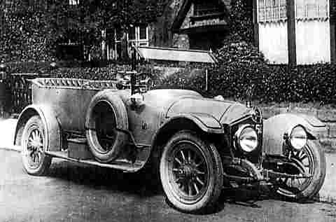 Crossley 15hp Shelsley ref 45-30