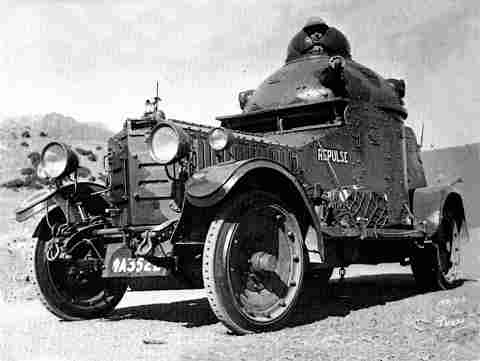 Crossley armoured car