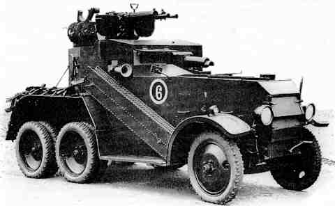Crossley D2E1 armoured car