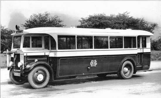 Crossley Eagle bus