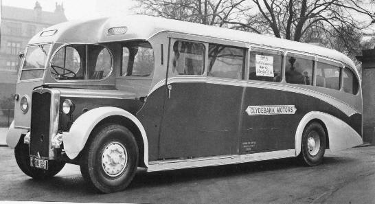 Crossley SD42 bus