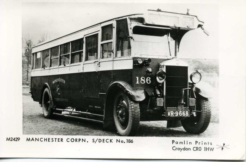 Crossley Single deck bus