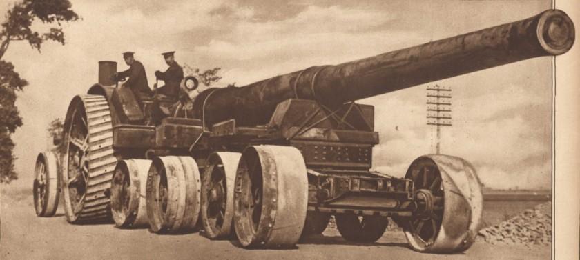 Daimler-Foster 105 hp artillery tractor