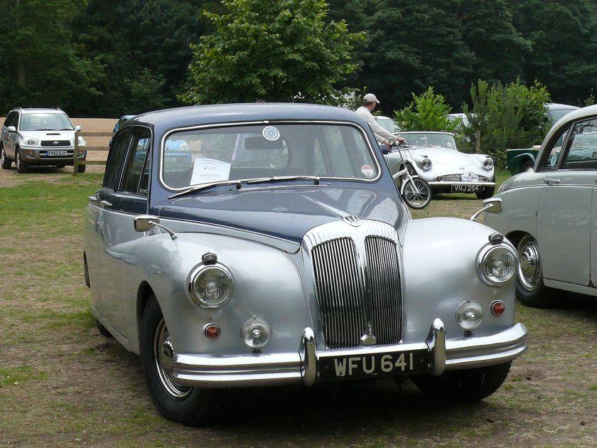 Daimler Majestic 3.8-litre saloon 1