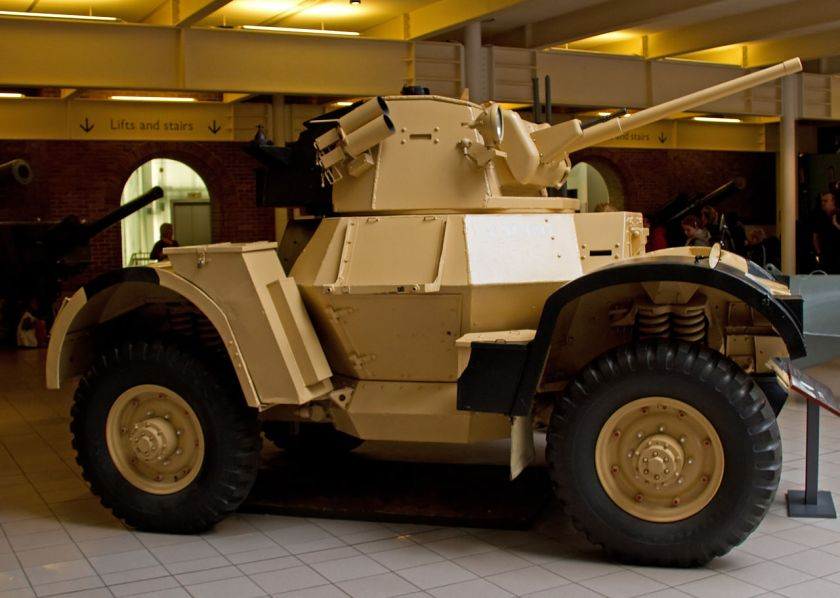 Daimler Mk1 Armoured Car side