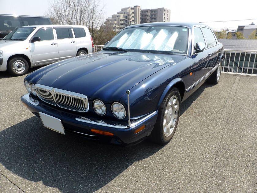 Daimler Super V8 front
