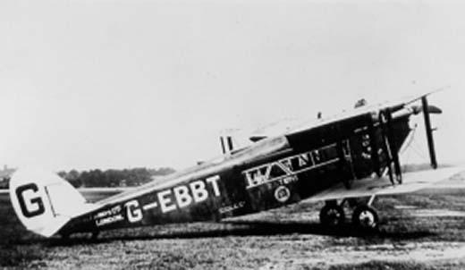 DH34 Biplane 1 Daimler de Havilland 34