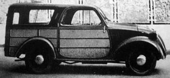 Fiat Accossato 500 giardinetta
