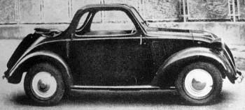 Fiat Accossato 500a 4 posti