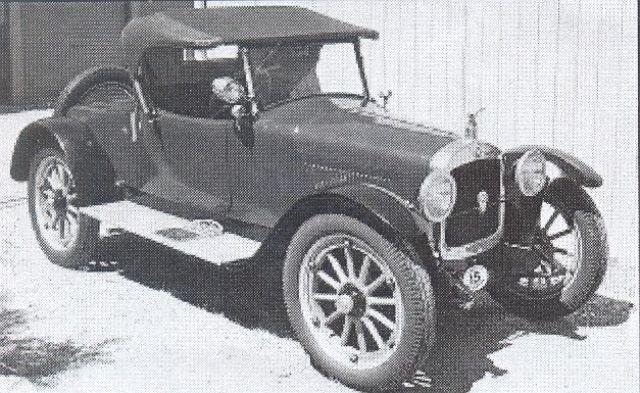 Hupmobile Model R