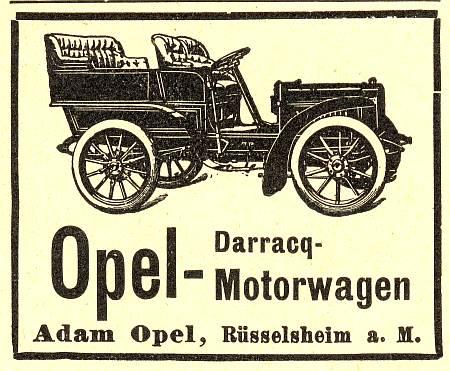 Opel Darracq Oldtimer Bilder 9 01