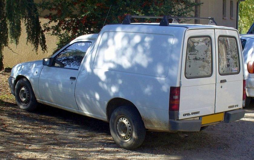 Opel Kadett Combo 1.7D