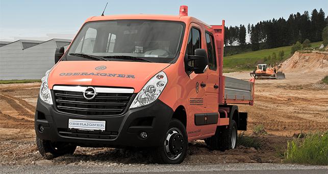 Opel Movano 4x4
