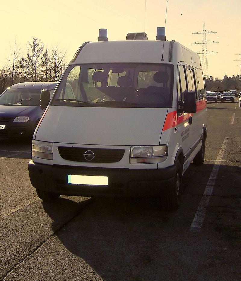 Opel Movano MTF