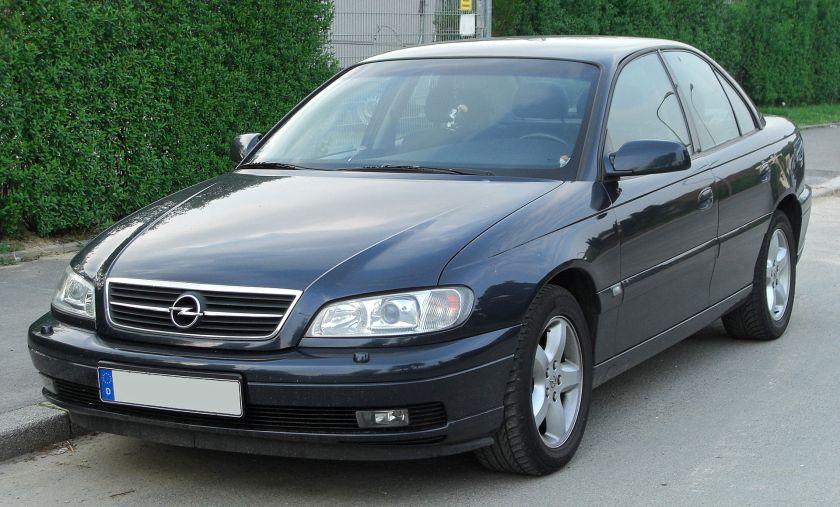 Opel Omega II 2.2i Facelift front 2010