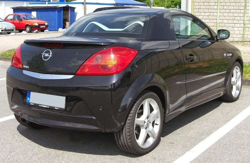 Opel Tigra_Twin_Top_20090510_rear
