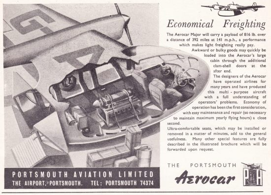 PortsmouthAviation-Aerocar Freight-1946-1