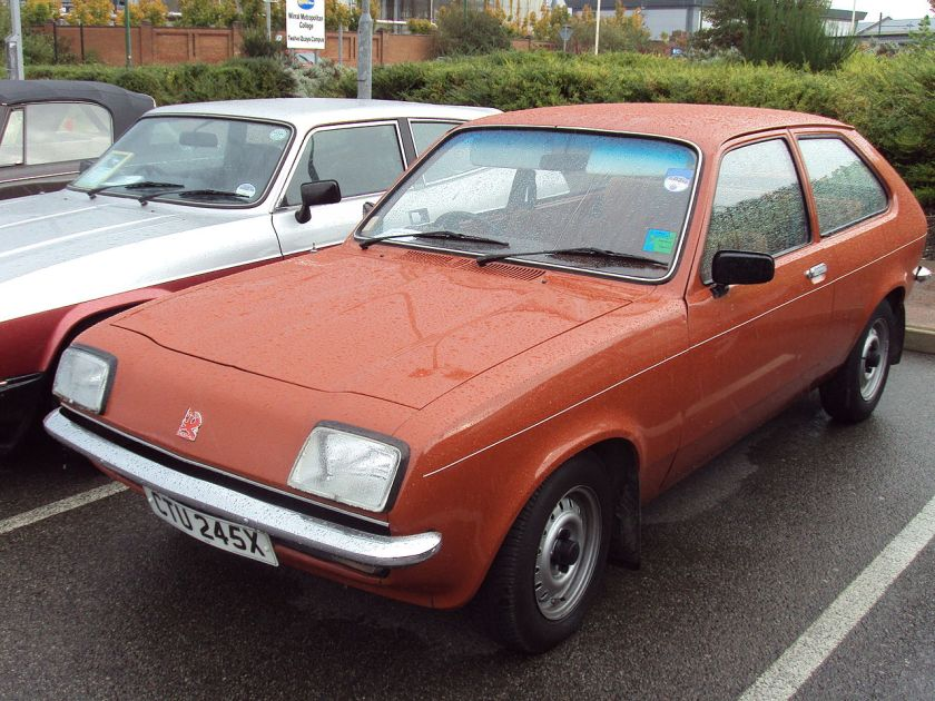 Vauxhall Chevette 2d