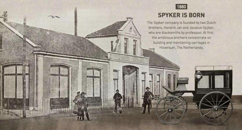 1880 Spijker is born
