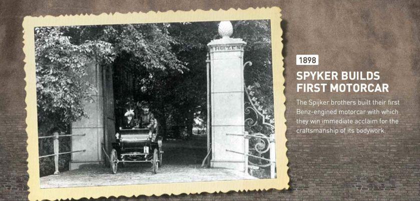 1898 Spijker motorcar