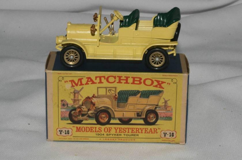 1904 Spijker Tourer Matchbox