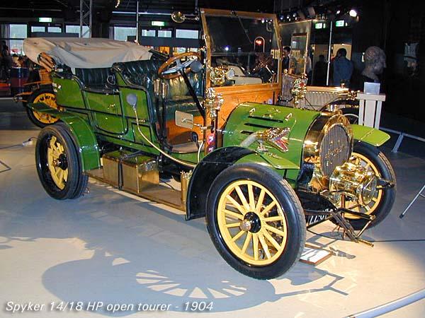 1904 Spyker 14-18 HP a