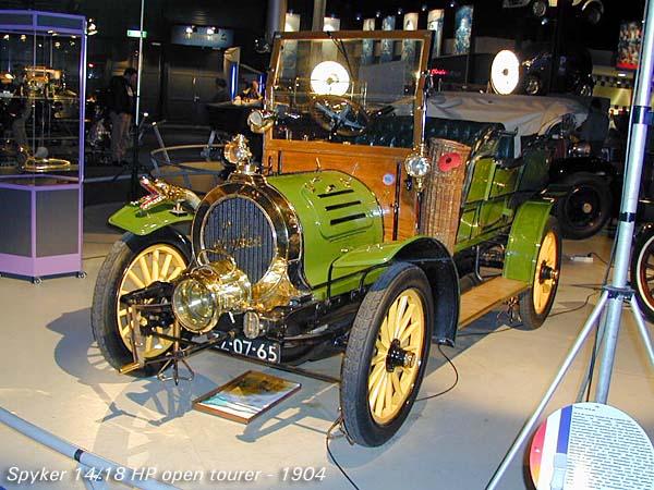 1904 Spyker 14-18 HP