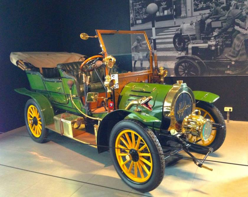 1905 Spyker 12-16-hp Double Phaeton