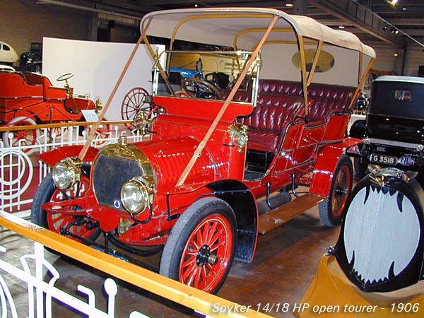 1906 Spyker 14-18 HP