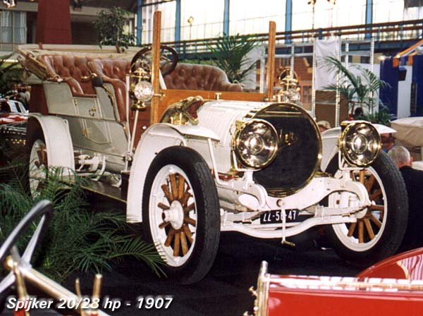 1907 Spijker 20-28hp