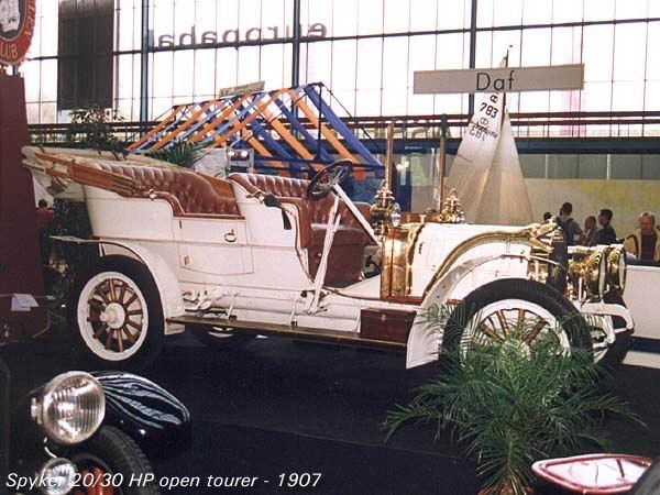 1907 Spijker 20-30 HP Open Tourer a